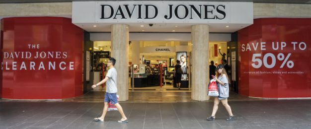 David Jones confirms 120 job cuts