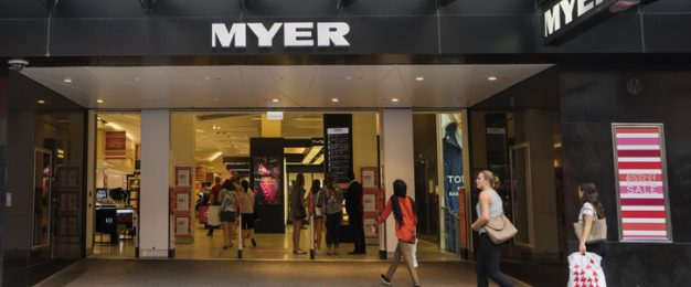 Myer and DJ's drag amidst retail sales climb