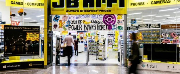 JB Hi-Fi reports record sales