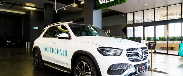 Pacific Fair launches premium car service with Mercedes Benz