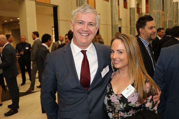 Chris McNamara and Deborah Jackson