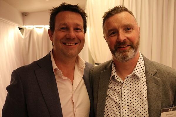 Asahi's Scott Hadley and John Kelly