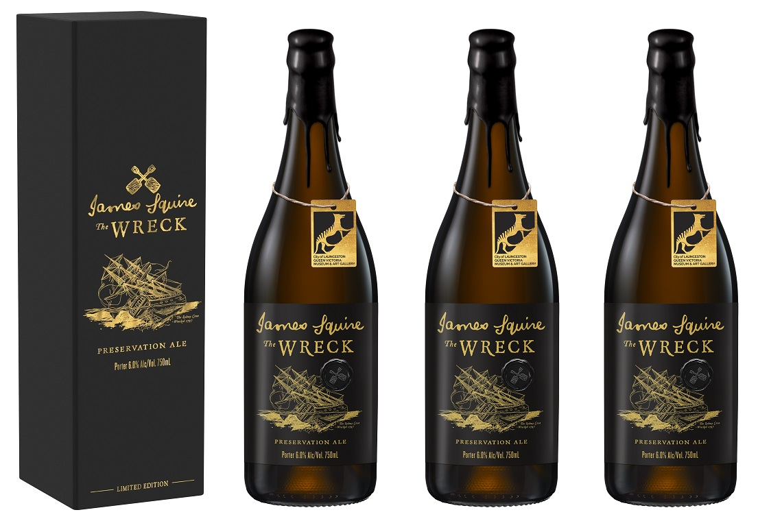 James Squire to release limited edition The Wreck bottles - The Shout