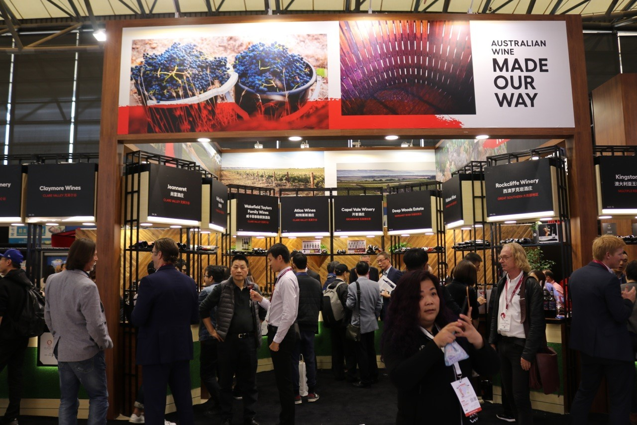 Expo Stands Australia : Gallery: australia dominates prowine china 2018 the shout