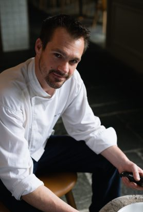 Head chef Jon Trouillet of Bistro Mosman at The Buena