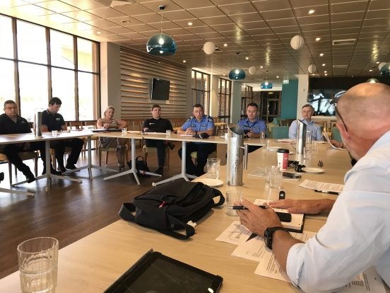An industry engagement meeting in Port Hedland