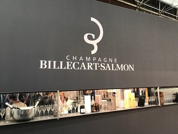 The Champagne zone featured around 180 different brands.