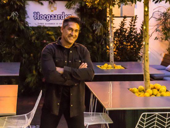 Celebrity landscaper Jamie Durie unveils The Observer Hotels new beer garden