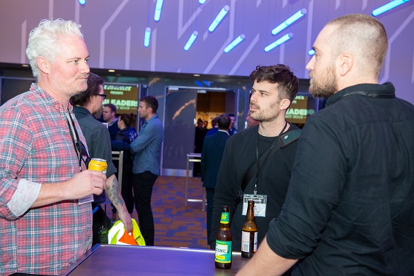 Pub Leader Summit 2019 delegates enjoy networking drinks with sponsor Gage Roads Brewing Co