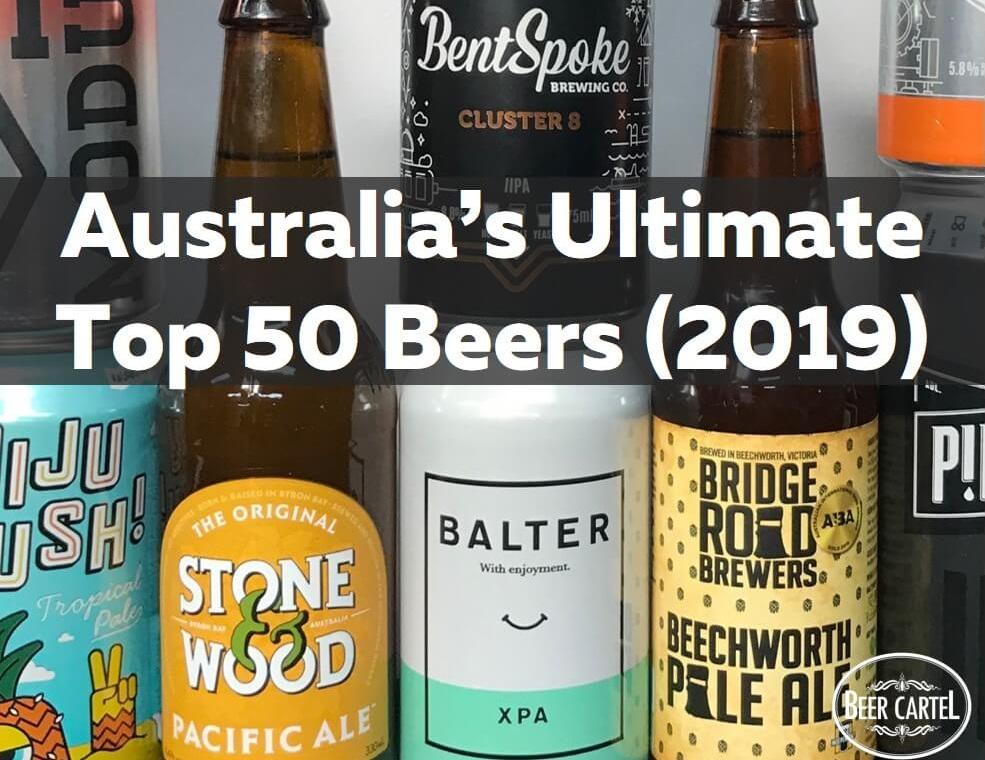 Beer Cartel list Australia's Ultimate Top 50 Beers - The Shout