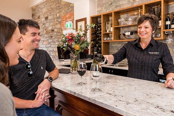 Knappstein Wines Renovated Cellar Door - Photograph by Daniel Blackman