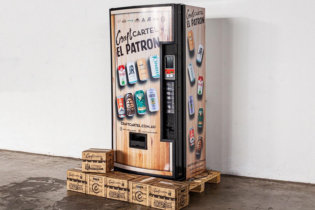 В Австралии появились офисные автоматы с крафтовым пивом