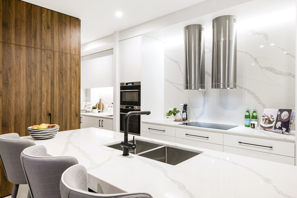 Urban's tour of a completed Cornelia Edition townhome