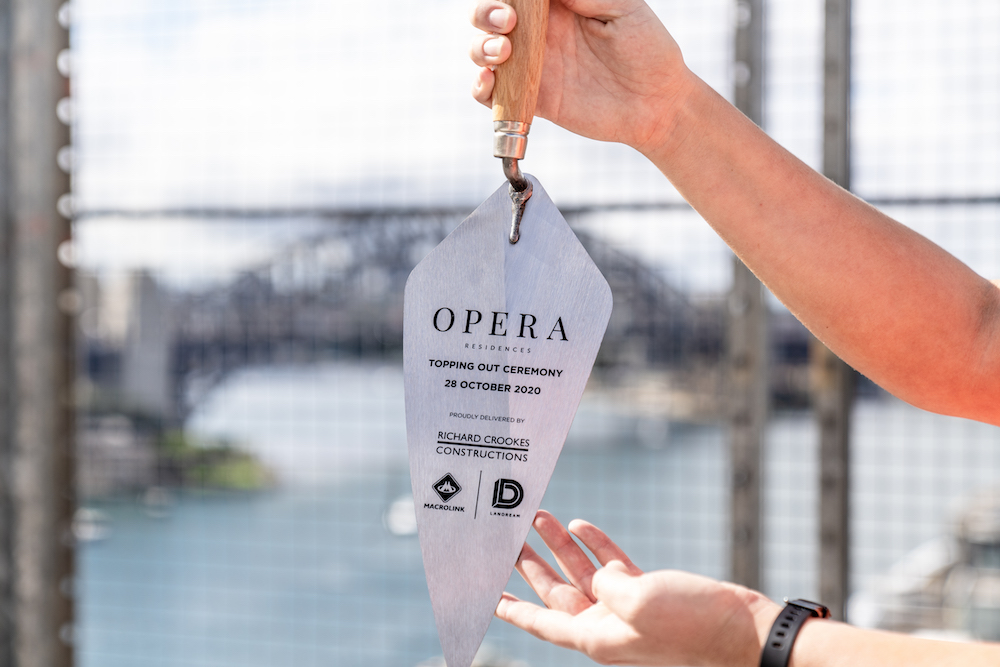 Opera Residences: Sydney's 0m residential building that sold out in 2 hours has now topped out