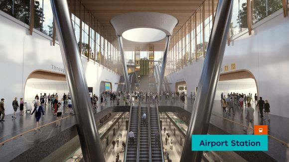 AirRail Melbourne - Airport Station location revealed in stakeholder presentation