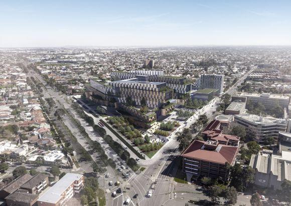 New Footscray Hospital location unveiled