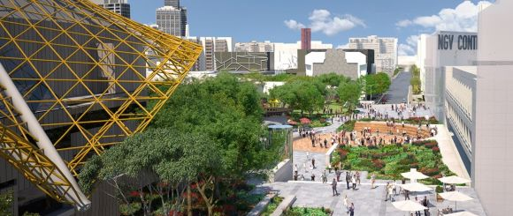 Back to the noughties: Melbourne's arts precinct set to get a major makeover