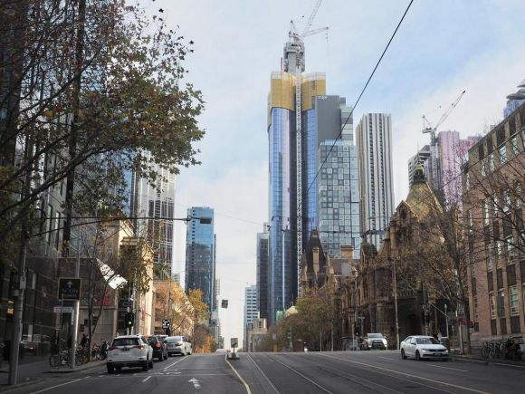 A snapshot of Melbourne's construction - July 2018