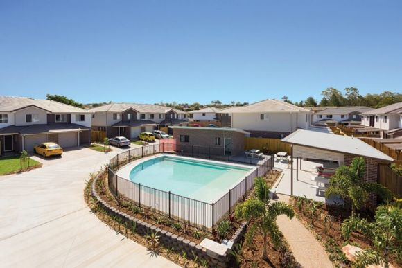 Discover Nudgee Square: 3-bedroom family homes with a shared pool from 5,000