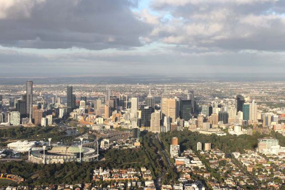 Melbourne by Balloon