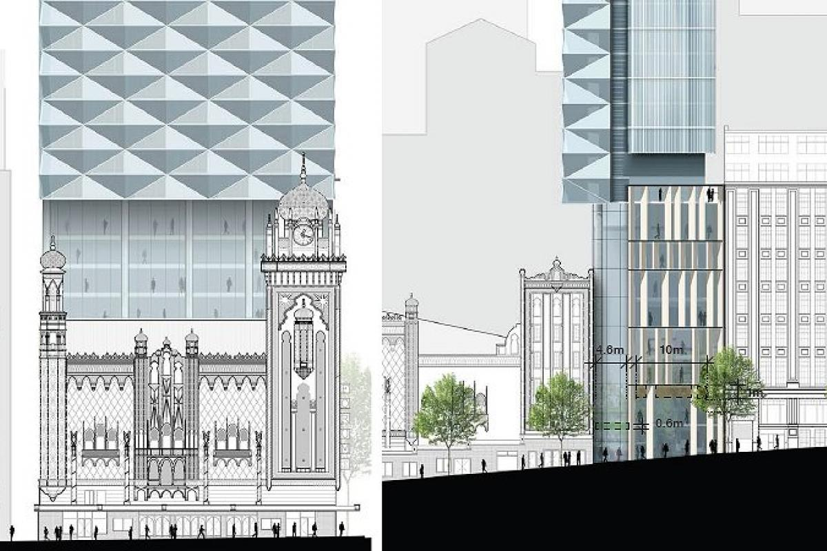 Planning Application > Hotel Forum @ 150-162 Flinders Street