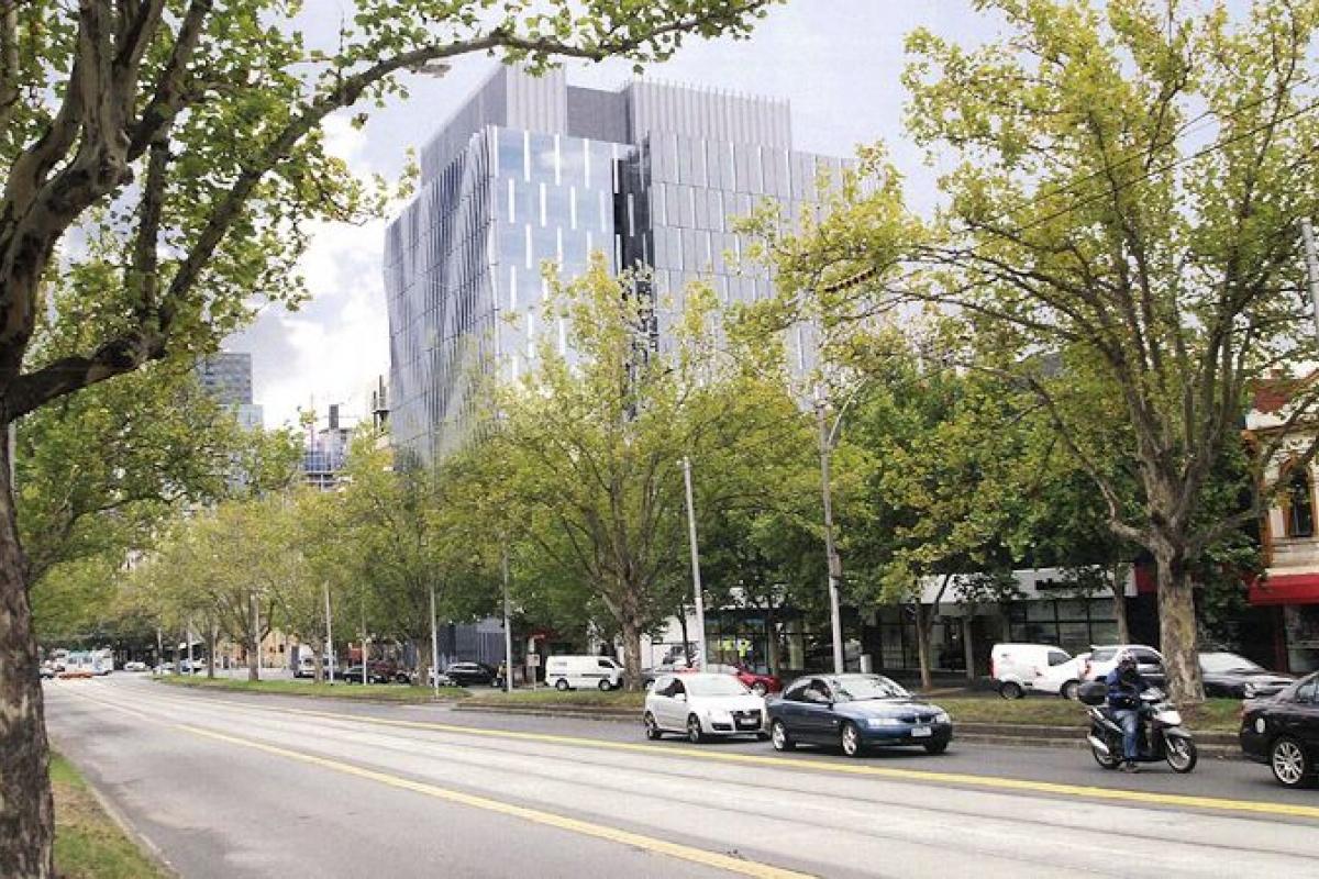 Fins and folly > 529-541 Elizabeth Street, Melbourne