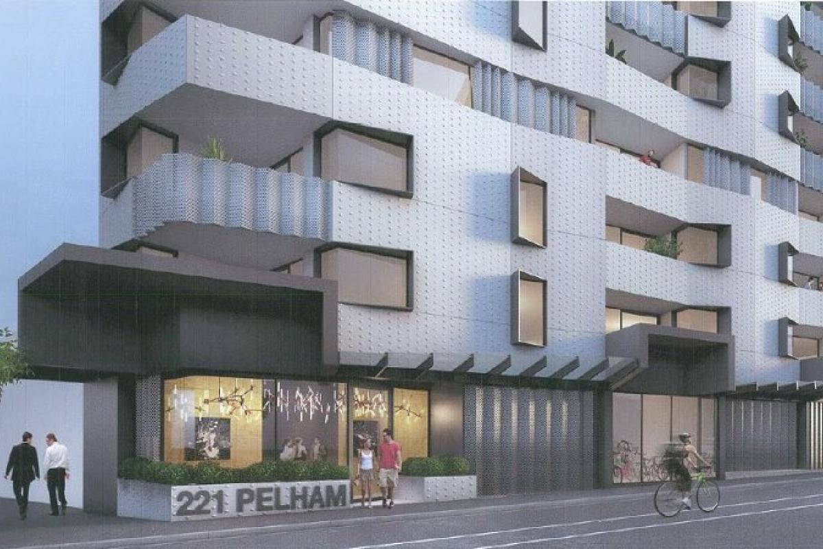 Planning Application > 221 Pelham Street, Carlton