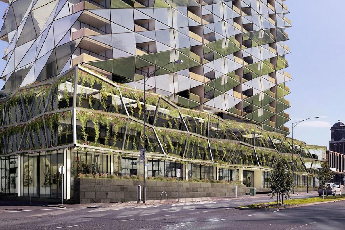 Planning Application > 385-405 King Street, West Melbourne