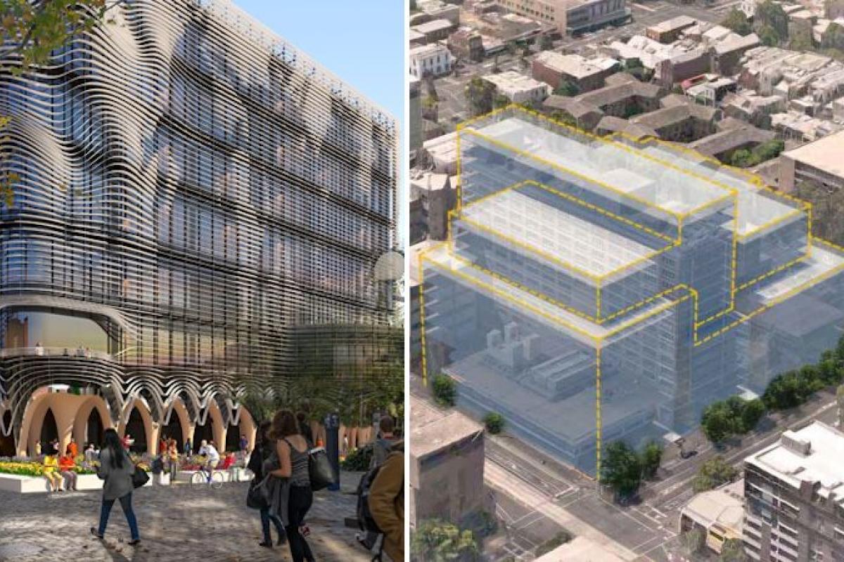 Melbourne University's building program reloaded