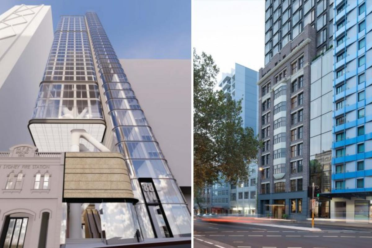 Two fresh hotel applications enter the Sydney spotlight