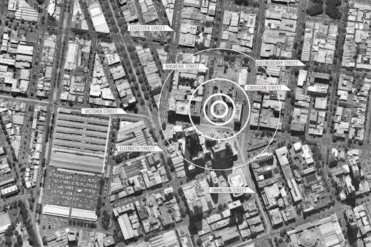 8 Bouverie Street a giant amongst Melbourne development sites
