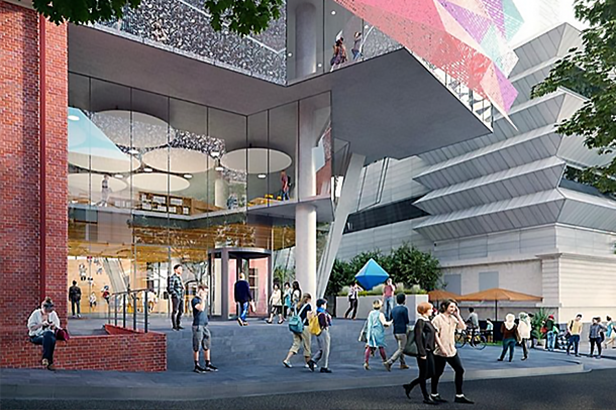 ISPT set to deliver Victoria University's new vertical city campus