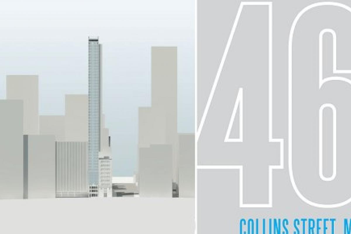 The pencil skyscraper > 464 Collins Street in depth