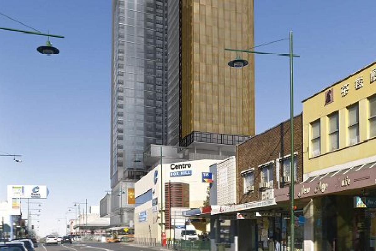 Suburban Melbourne's tallest proposal redefined