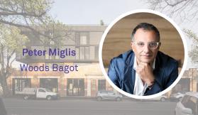 Discussing apartment design with Woods Bagot's Peter Miglis