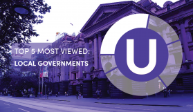 Urban's Top 5 for October -  Most Viewed Local Government Areas