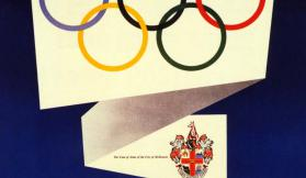 Memorabilia from the XVI Olympiad, Melbourne 1956