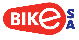 bike SA logo spot Red and blue