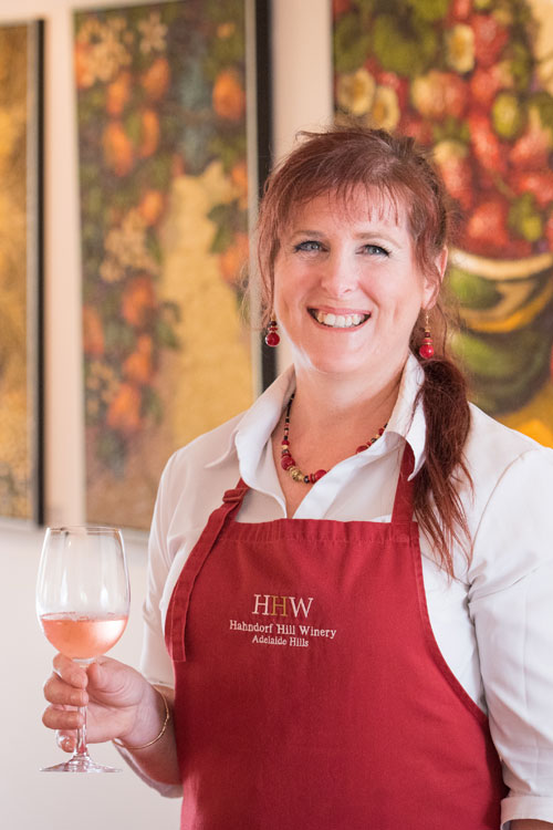 Dee Wright, Cellar Door Manager at Hahndorf Hill