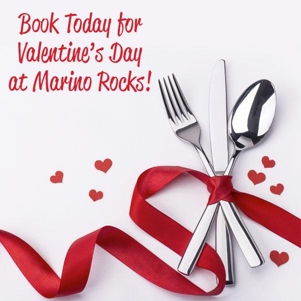 Marino Rocks Valentines Day Menu