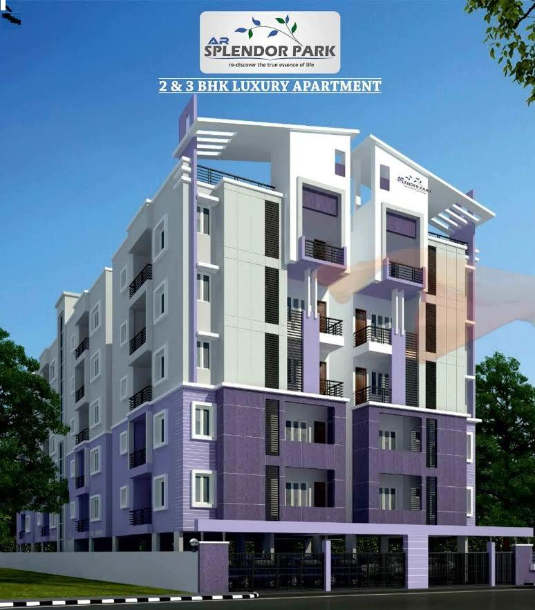 "2 & 3 BHK LUXURY FLATS FOR SALE""AR SPLENDOR PARK""@ Horamavu AGARA"