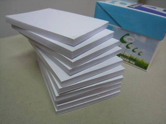 A4 Copy Paper 80gsm, 75gsm, 70gsm.