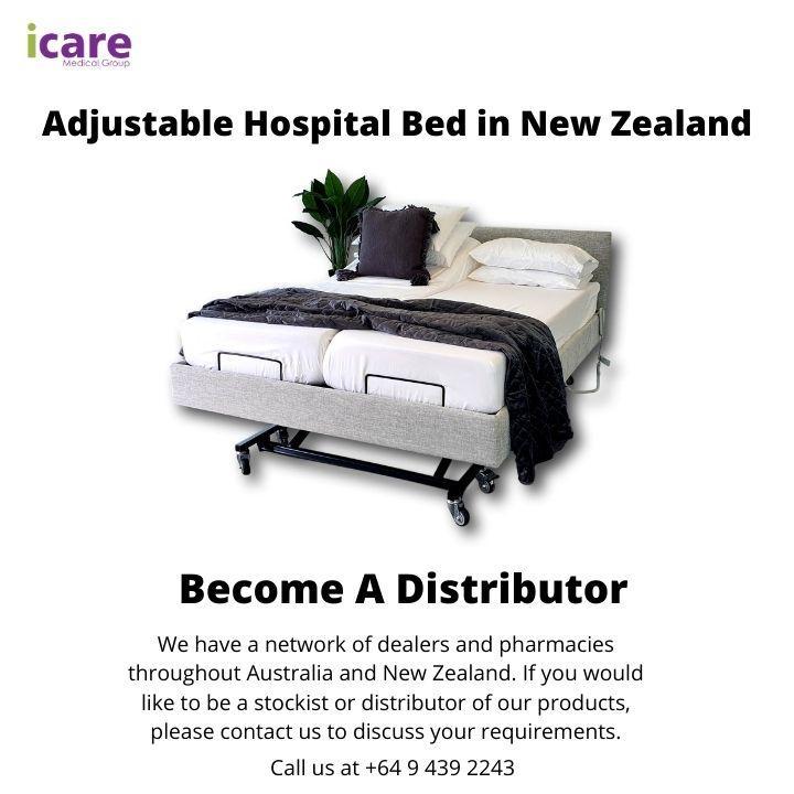 Adjustable Hospital Bed in New Zealand
