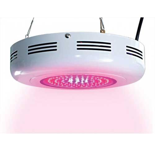 All Red 135 Watt UFO LED Grow Lamp For Flowering And Fruiting