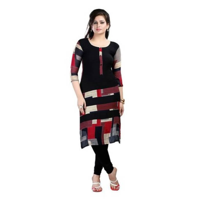Black Kurtis Online Shopping - Upto 70% Off