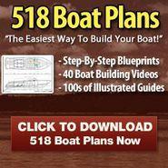 Boat Plans - 518 Illustrated DIY Boat Plans