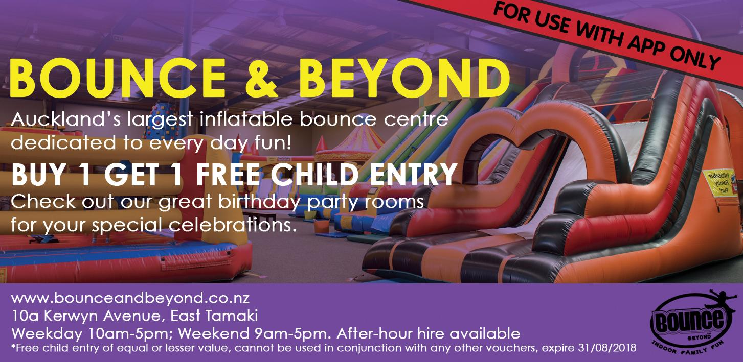 BOUNCE & BEYOND in Auckland Indoor Play Center for Kids