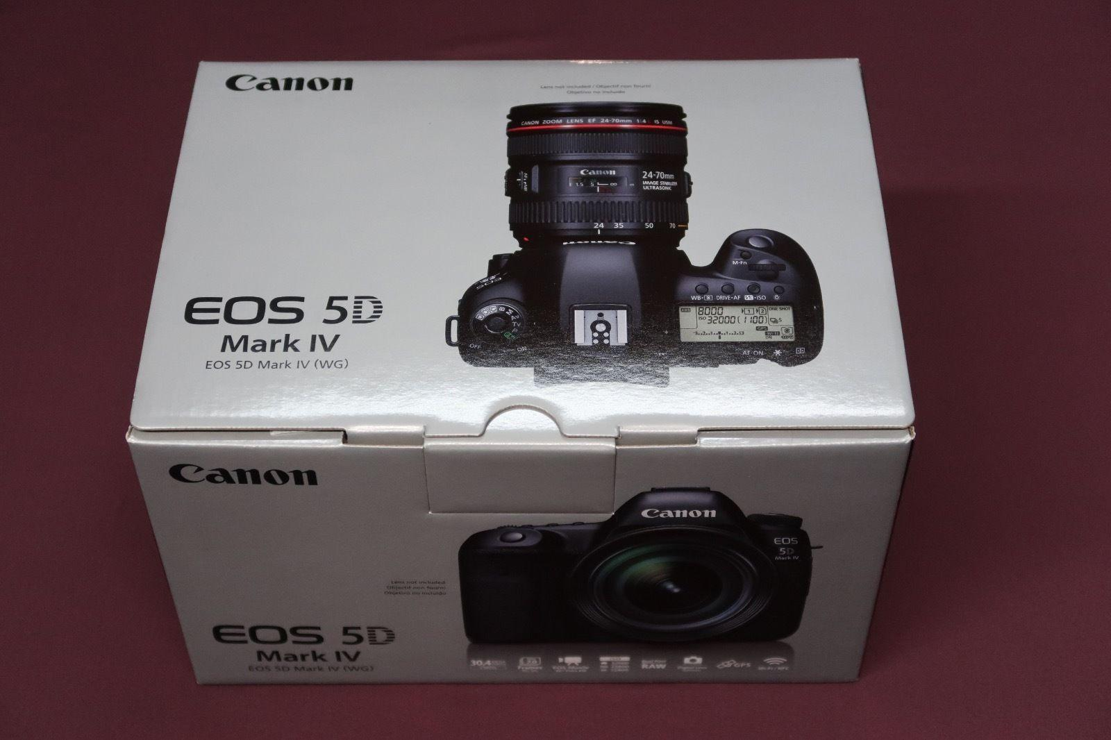 Canon EOS 5D Mark IV EF 24-105mm