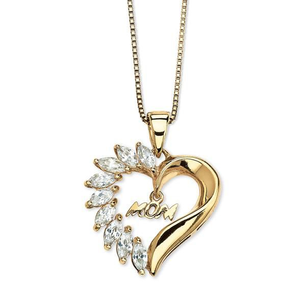 CB Silver/Gold Hearts Necklace