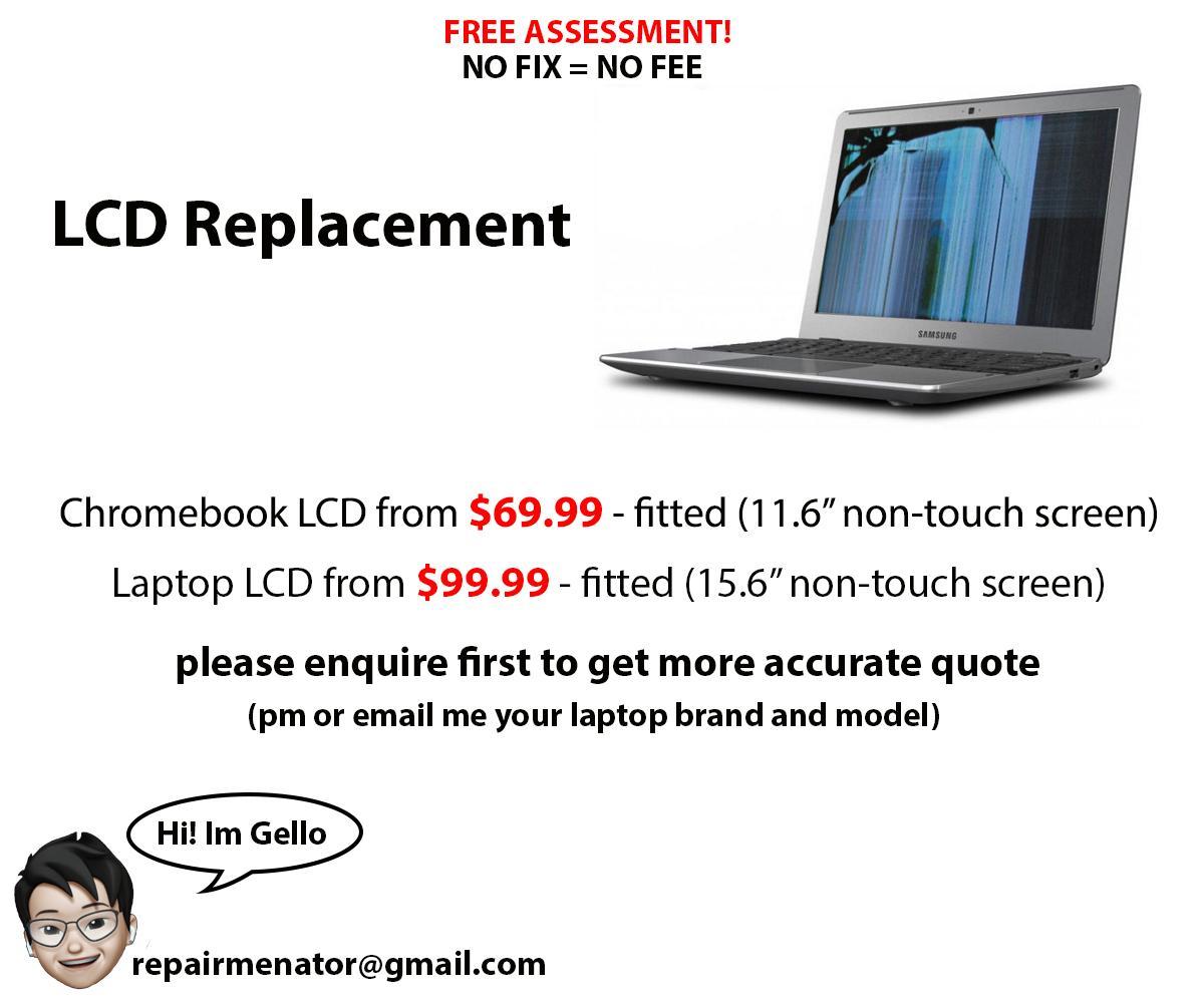 Chromebook Repair (Affordable Price)